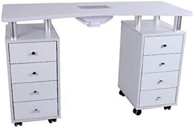 Mesa para manicura de uñas, Ideal para decoración de uñas: Amazon ...