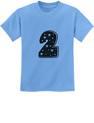 TeeStars - Two Years Old Cute Birthday Gift Idea - I'm 2 Superstar Kids T-Shirt 2T California -