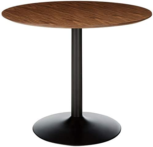 Coaster Montoya Dining Table, Walnut Black