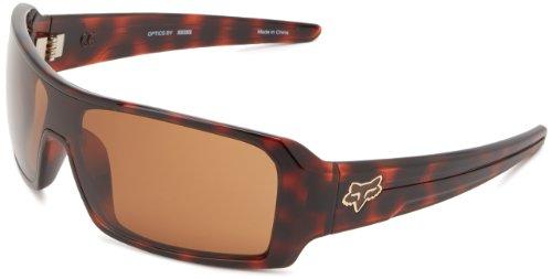 Fox The Duncan 06317-903-OS Shield Sunglasses,Brown Tortoise & Bronze,One - Fox Sunglasses Duncan