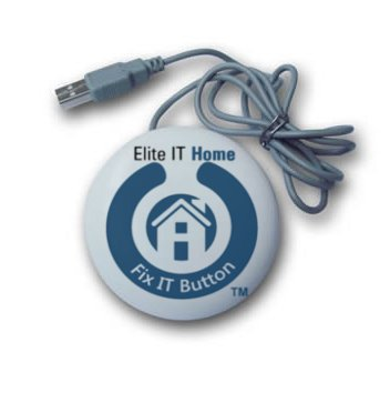 Fix IT Button - 12 Month Home Computer Technical Support and Anti-Virus Service –
