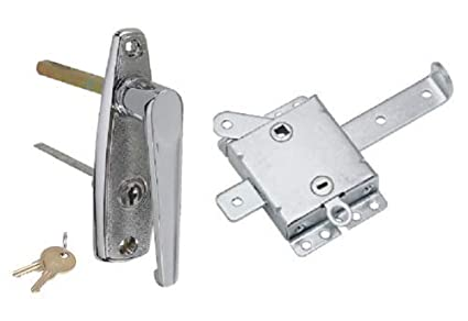 Merveilleux Amazon.com: (KS) New Garage Door L Handle Lock With Inside ...