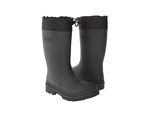 rubber insulated hunting boots - 1