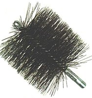 Gordon Brush 84012 8 In. Duct And Flue Brush - Single Spiral44; Double-Stem44; Case Of 6 -