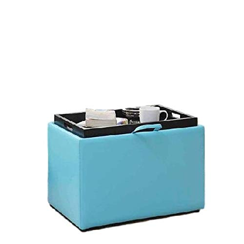 Amazon.com: GT Ottoman Storage Containers Teal Upholstered