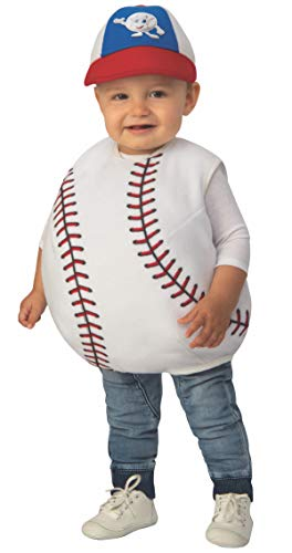 Baseball Costume For Boys (Rubie's Baby's Toddler Kids Opus Collection Little Cuties,)