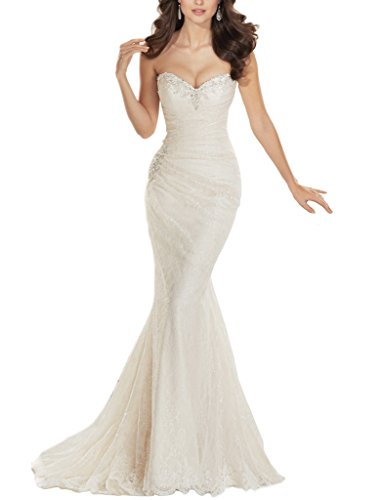 JYDress - Robe - Mermaid - Femme -  ivoire - 46