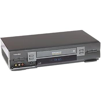 amazon com toshiba w603 4 head hi fi vcr electronics rh amazon com Vintage Toshiba VCR Toshiba DVD VCR Combo Player