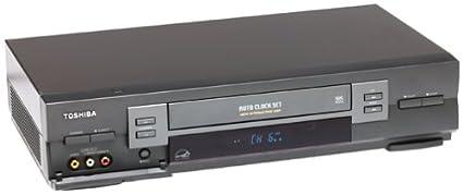 amazon com toshiba w603 4 head hi fi vcr electronics rh amazon com Toshiba TV VCR Emerson VCR