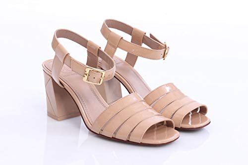 Tory Sandal Mujer In Leather Patent Pink Light Burch 88xqBRF