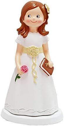 DISOK - Figura Pastel Comunión Niña Libro - Figuras de Pastel Comuniones Niñas Comprar
