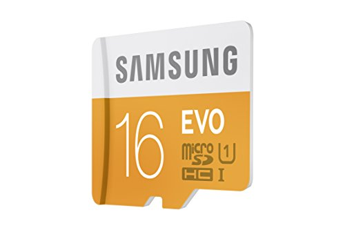 Samsung 16GB up to 48MB/s EVO Class 10 Micro SDHC Card with Adapter (MB-MP16DA/AM) 3 Capture faster Transfer faster A perfect partner