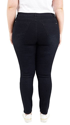 Nouveau Pantalon Qualit Denim Brave Fit 50 Slim Confort Femmes 44 Stretch jeans Black me TwTqfUZ