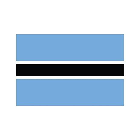 Botswana flag sticker decal fa vinyl
