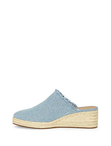 Lucky Brand Women's Lidwina Mule, Light Denim, 5 M US ()