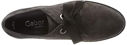 Shoes Dkgrey Femme Comfort 39 Gabor Gris str Sport s Derbys crist SwUqxf1C
