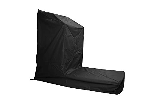 Equip, Inc. Protective Cover for Non-Folding Treadmill Platform and Belt. Heavy Duty UV/Mold/Mildew/Water-Resistant/Indoor and Outdoor Cover (Black, Medium)