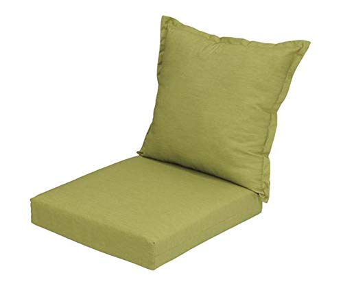 Wisechoice Deep Seating Patio Chair Cushions Mainstay Love Seat Pads, 7 Inch Thickness (Patio Deep Cushions Inch 26)