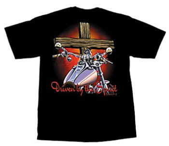 DRIVEN SPIRIT Christian Biker T shirt product image