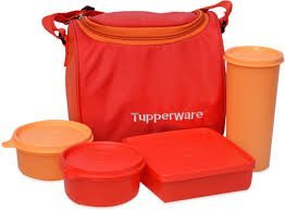 tp-860-t187-tupperware-best-lunch-including-bag-with-two-bowls-one-tumbler-and-one-square-box-allows