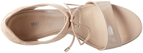 HUGO Women's Vanea-B 10195651 01 Heels Sandals Beige (Light Beige 270) DdlOgzKfu