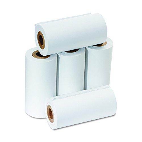 PM empresa sumadora/calculadora de la Recepción rollos, 5.7cm de ancho, 43.2cm de largo, blanco, 5por paquete (07622)