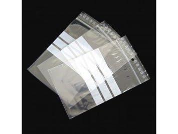 Tecplast pr0607 cartón de 1000 bolsas pebd cierre Zip 50 µ ...