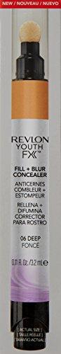 Revlon Youth Fx Fill + Blur Concealer, Deep, 0.11 Fluid Ounce