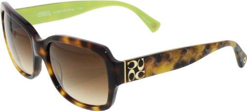 Coach Sunglasses HC 8001 HAVANA 5052/13 HC8001 (Sunglasses Designer Women)