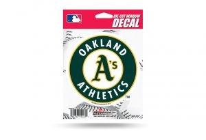 MLB Oakland Athletics Die-Cut Window Decal ()
