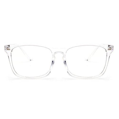 Fantia Unisex-adult Optical Glasses Clear Lens Eyeglasses Transparent Frame - Fancy Frames Glasses