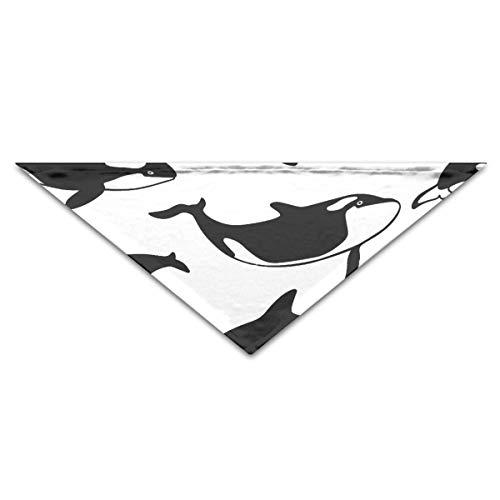 Ocean Orca Sea Killer Whales Dog Bandanas Scarves