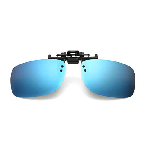 Clip Lunettes Clip de 5 Soleil Up Hommes Square Polarized 3 métal Flip de en on Fashion Aiming 8I7Sw8
