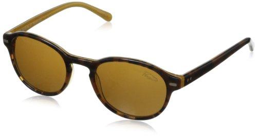 Original Penguin Men's The Redding Polarized Round Sunglasses, Dark Tortoise, One - Penguin Sunglasses