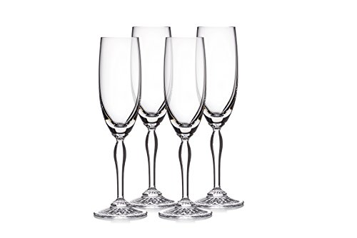 Marquis By Waterford 40030431 Ventura Flute Set/4, 5.5 oz, Clear Review