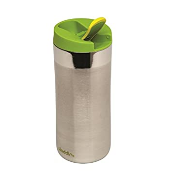 Edelstahl gebürstet aladdin Vacuum Mug 0,47L Thermobecher Isolierbecher