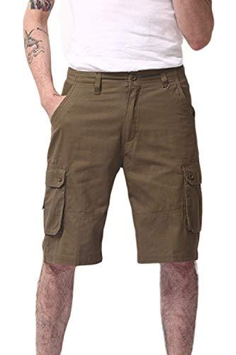 Convient Vêtements Avec De Poches Gelb Sport Classique Plissé Pantalon D'été Homme Décontracté Fête Aux Pour Cargo qwppYR