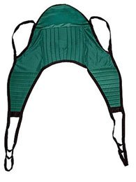 """Slings for use with Electric Patient Lift 5536-82 Padded U-Sling Padded U-Sling. Large, 38""""W x 69""""L"""