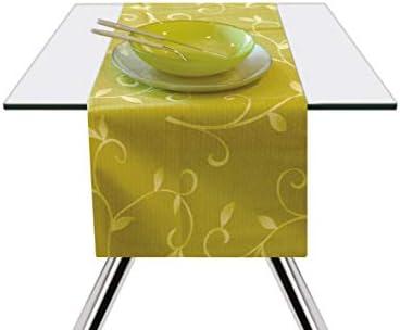 Excelsa Color Club - Camino de Mesa, algodón, Verde, 45 x 140 cm ...
