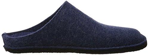 Haflinger Unisex-voksen Flair Bløde Tøfler Blå (jeans 72) 1T2kM