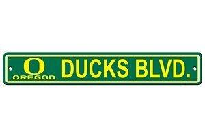NCAA Oregon Ducks Street Sign, 4