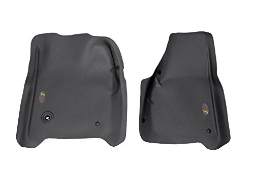 Lund 405701 Catch-All Xtreme Black Front Floor Mat - Set of 2