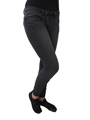 Pantaloni Donna Grigio Stretch Jeans Malibu Vista Twill Chiaro Buena xHA6XnH