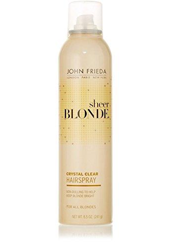 John Frieda Hairspray Sheer Blonde Crystal Clear 8.5 - John Frieda Sheer Blond Hairspray