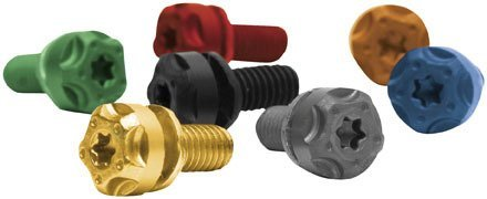 Price comparison product image Two Brothers Racing Torx Screw Kit - Black