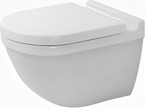 Duravit 2225090092 Toilet Bowl Wall Mounted Starck 3