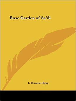 Rose Garden of SA'DI (1919)