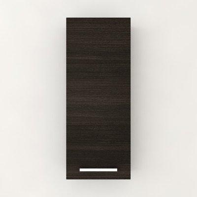 Silhouette 11.5'' x 30.75'' Wall Mounted Cabinet Finish: Dark Chocolate