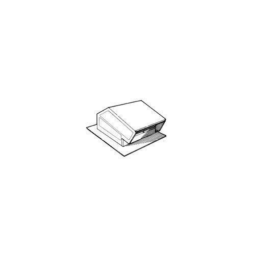 broan-nutone 644 roof cap aluminum 8 round duct