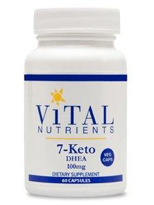 Vital Nutrients - 7-Keto DHEA 100mg 60 caps